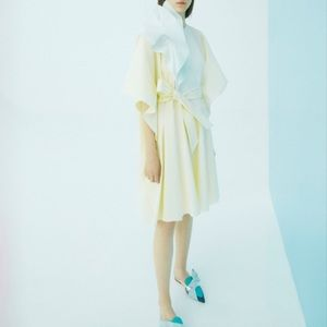 NWT DELPOZO Beige Dress size 40 FR